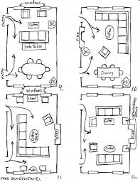 Rectangular Living Room Dining Room Layout by Living Room Dining Room Furniture Arrangement 1000 Ideas About