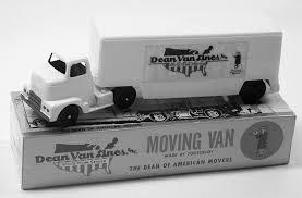 100 Toy Moving Truck Focal Point Dean Van Line Van Tootsietoy Circa 1958