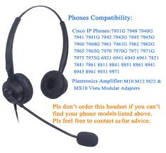 Amazon.com : Audicom Call Center Headset Headphone With Mic For ... Ipns Jabra Electronic Hook Switch For Cisco Ip Phones 1420130 Bh Certified Biz 2325 Qd Mono Headset 2303820105 Headset Buddy Phone Adapter 35mm Smartphone Amazoncom 25mm Telephone With Noise Cancelling Compatible Plantronics Encorepro 510 Hw510 Direct Connect Link 1420116 Ehs Adaptor Telephones And Compatible Gn2125nc 010325 Encorepro 720 Hw720 8861 5line Voip Cp8861k9 Unified Wireless 7925g 7925gex 7926g User 7911g 1line Refurbished Cp7911grf