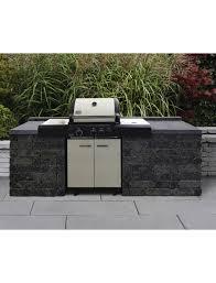 mauerstein outdoorküche universal bxlxh 70 x 70 x 85 cm aus beton glatt