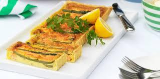 cuisine asperge tarte saumon asperge et chèvre facile et pas cher recette sur