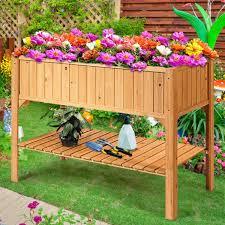 Garden Boxes Raised Design Ideas Flower Gardens