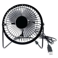 Battery Operated Desk Fan Nz by Well Turned Usb Desk Fan Design Cooling In Black And White Nz