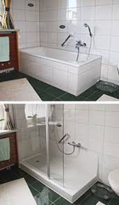 Badewanne Mit Dusche Badewannenumbau Alte Wanne Zur Neuen Dusche Nullbarriere