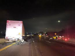 100 Truck Stop San Diego Deadly Crash Prompts Closure Of North County Freeway CBS News 8