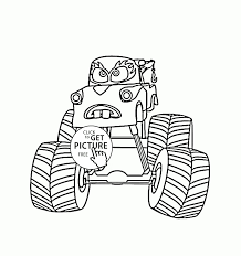 Best Of Mater Monster Truck Cars Coloring Page For Kids ...
