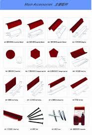 tile ideas decra villa tile cost best type of metal roof metal