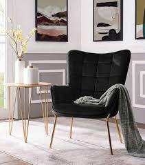 leonique loungesessel loue mit schönem weichen velvet bezug in verschiedenen farbvarianten mit metallgestell