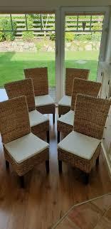 6 esszimmer stühle incl sitzkissen dänisches bettenlager