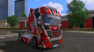Spfc Skin For All Trucks Euro Truck Simulator 2 Mods, All Trucks ...