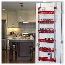 Over The Door Bathroom Organizer by Household Essentials 6 Basket Over The Door Organizer Lime