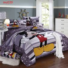 Mickey Mouse Bedding Twin by Disney Mickey Oh Boy Gosh Licensed Full Comforter Set W Fitted