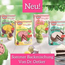 foodschau werbung dr oetker summer edition