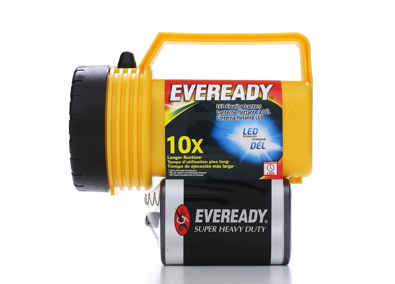 Eveready Industrial Floating LED Battery-Powered Lantern