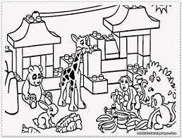 Zoo Coloring Pages Printable Animals To Print