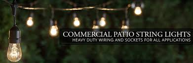 mercial Patio String Lights Yard Envy