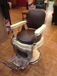 cr4 thread antique koch barber chair reclining won t lock upright