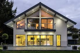 100 House Contemporary Design ScandiaHus Adelia Timber Frame Contemporary Design