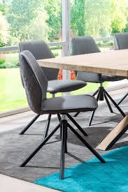 habufa bravo stuhl drehbar 2er set grau braun esszimmer