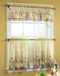 Burlap Kitchen Curtain Ideas Grey Metal Chrome Double Bowl Sink Window Designs