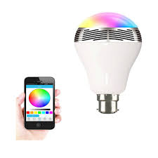 wireless bluetooth speaker color led light bulb deal hopperz