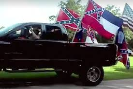 They Waved The Confederate Flag And A Shotgun At A Black Child's ... Michigan School Says Trucks With Confederate Flags Were Potentially Flag Group Charged With Terroristic Threats Nbc News Shut After Flagbearing Truck Gatherings Fox Photos Clay High Schooler Told To Take Down From A Guy His And The West Salem Students Force Frdomofspeech Shdown Display Of Flags Fly At Hurricane High Education Some Americans Still Despite Discnuation The Rebel Flag Isnt About Its Identity Peach Pundit Raw Video Rally Birthday Partygoers Clashing 100 Blankets Given By Gunfire Heard Near Proconfederate In Ocala Wftv