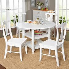 100 Large Dining Table With Chairs Furniture White Set Pedestal Round Wood