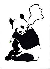 Panda Pumpkin Designs by Panda Stencil Banksy Inspired By Danfleming On Deviantart