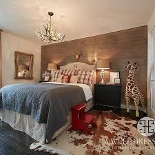 Country Cabin Boys Bedroom Design Ideas