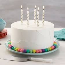 Pastel Wishes Birthday Cake