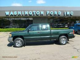 100 2003 Gmc Truck GMC Sierra 1500 Extended Cab 4x4 In Polo Green Metallic