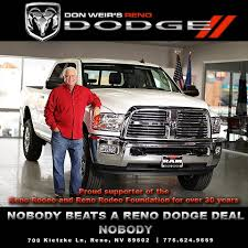 Don Weir's Reno Dodge Ram Fiat Dealer | New & Used Cars For Sale Reno
