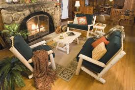 Fancy Interior Design Ideas Using Lodge Decoration Fascinating Living Room With Rustic