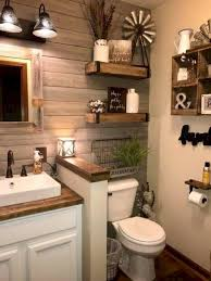 50 Stunning Rustic Farmhouse Bathroom Decorating Ideas 9 | Bathroom ... Master Bathroom Decorating Ideas Tour On A Budgethome Awesome Photos Of Small For Style Idea Unique Modern Shower Design Pinterest The 10 Bathrooms With Beadboard Wascoting For Blueandwhite Traditional Home 32 Best And Decorations 2019 25 Tips Bath Crashers Diy Cute Storage Decoration 20 Mashoid Decor Designs 18 Bathroom Wall Decorating Ideas