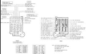 100 89 Chevy Truck K1500 Fuse Block Diagram Free Wiring Diagram For You