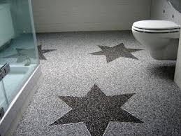 steinteppich selbst verlegen badezimmer fußboden