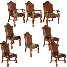 Contemporary Louis XIV Style Dining Chairs