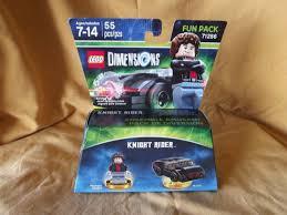 lego dimensions rider minifigure with kitt car 71286