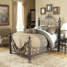 Top Incredible Iron King Size Bed Frame Intended For Residence