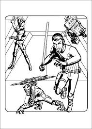 Star Wars Rebels Coloring Pages For Kids 2