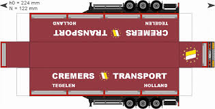 100 Trucks Paper TrailerCremersgif Paper Trucks Pinterest Models