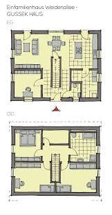einfamilienhaus grundriss mit satteldach architektur