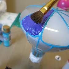 diy light bulb air balloons project by decoart