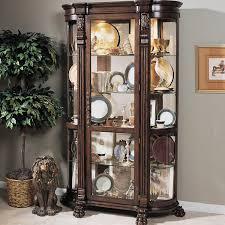 Pulaski Oak Corner Curio Cabinet by Furniture Stunning Curio Cabinet For Modern Home Furniture Ideas