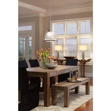 Home Decorators Collection Lighting by Home Decorators Collection Edmund Smoke Grey Dining Table