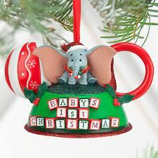 Dumbo Babys First Christmas Ear Hat Ornament ShopDisney