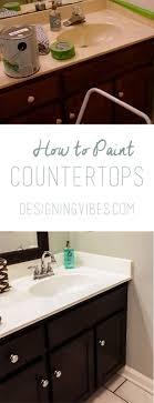 Countertop Painting Countertops White Kitchen Ideas Countertop