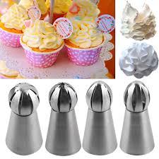 Cakes Decorated With Russian Tips by Nuevo Flor Ruso Decoración De Pasteles Un Glaseado Tuberías