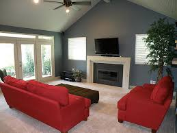 Lighting For Sloped Ceilings by Living Room Vaulted Ceiling Paint Color Tv Above Fireplace