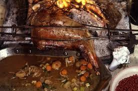 comment cuisiner une cuisse de sanglier cuissot de chevreuil aux airelles rôti à la broche